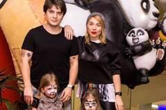 Яна Клочкова, Фоззи, Анатолич посетили в Киеве премьеру 'Панда Кунг-Фу 3'