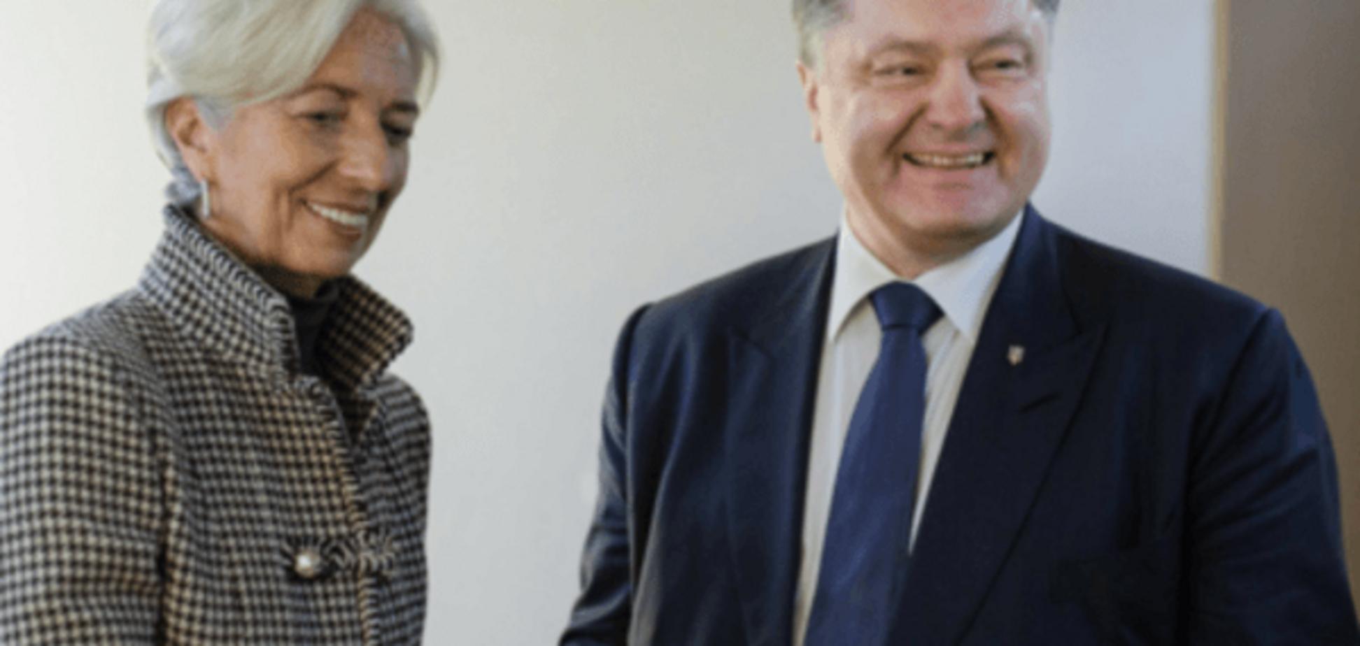 Украина получит транш от МВФ в феврале — Порошенко