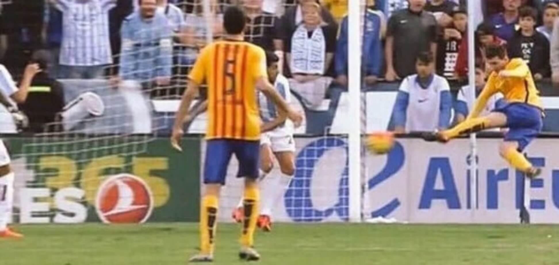 Месси забил роскошный гол боковыми ножницами в матче чемпионата Испании: видео шедевра