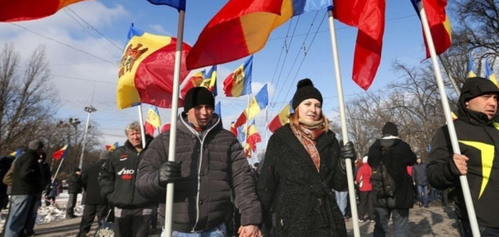 У Молдові протестувальники заблокували в'їзд до Кишинева