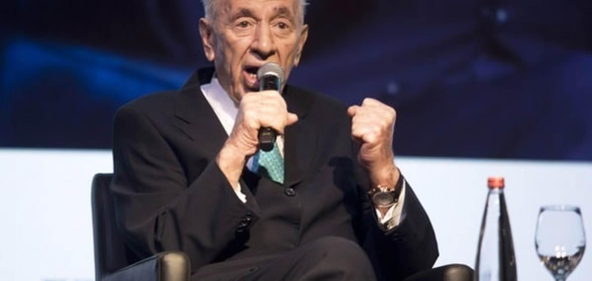 Экс-президент Израиля Шимон Перес угодил в больницу