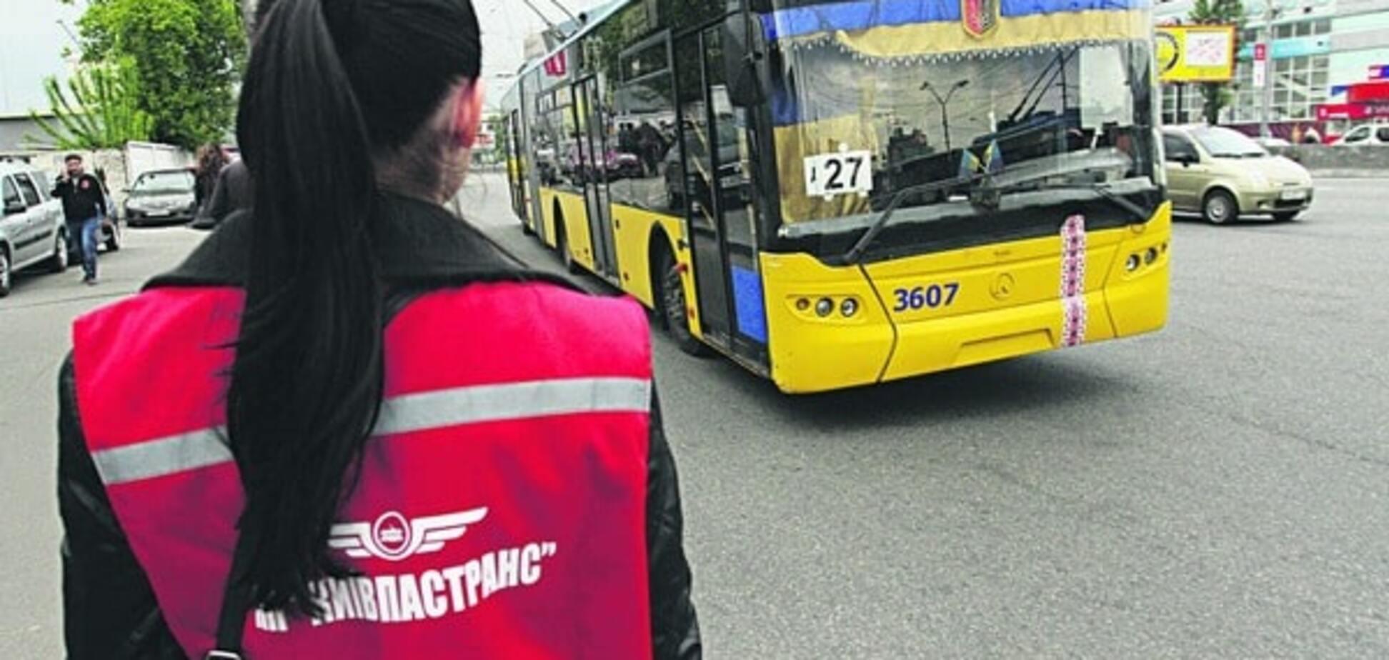 Майбутнє київського транспорту: банківська картка замість квитка