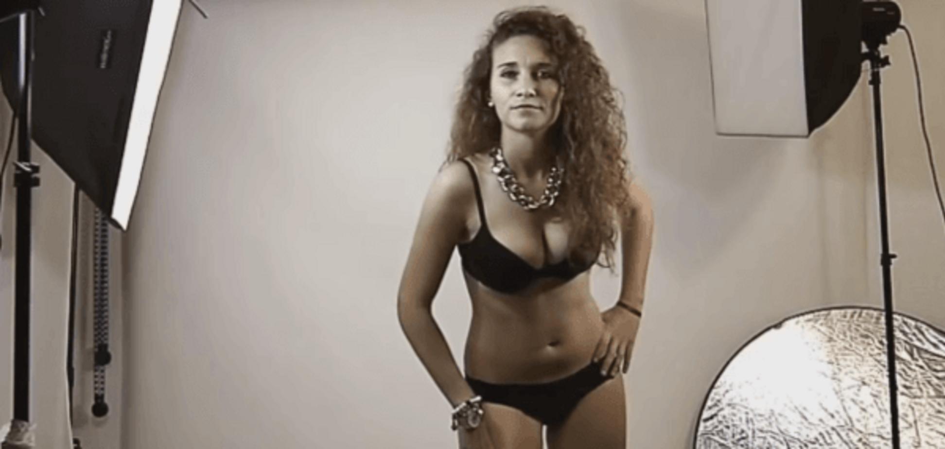 Испанские футболистки разделись для эротического календаря: откровенные видео