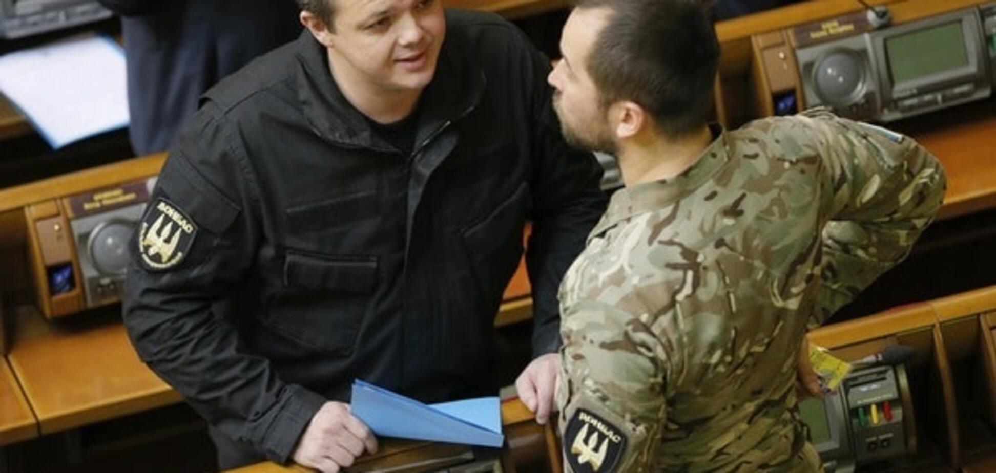 Семенченко незаконно получил офицерское звание - СМИ