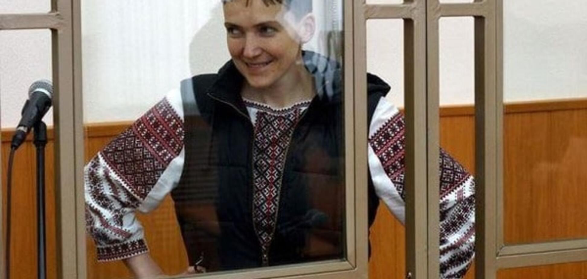 'Три месяца я уже не выдержу!': Савченко стало хуже