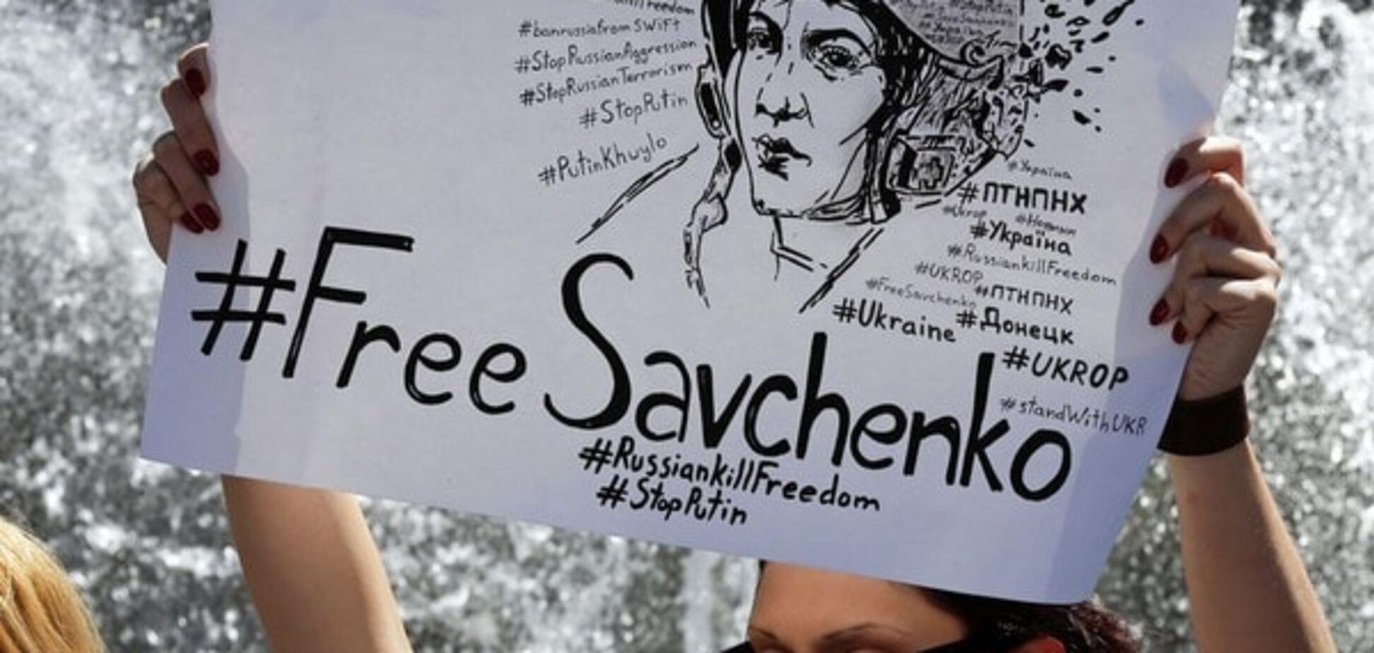 Савченко: у меня просто аллергия на Россию