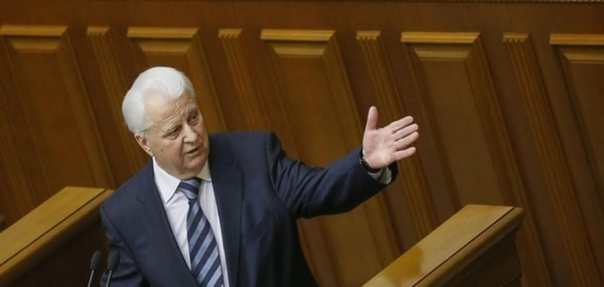 Леонід Кравчук: ми могли не допустити окупацію Донбасу