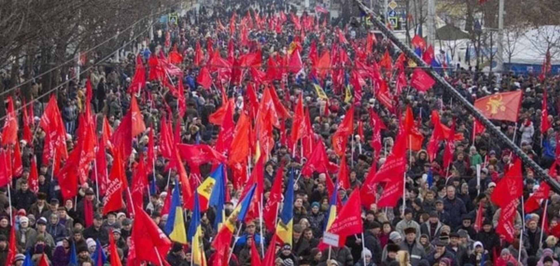 Stratfor про уроки Майдану для Кремля: Путін збирається 'брати' Молдову