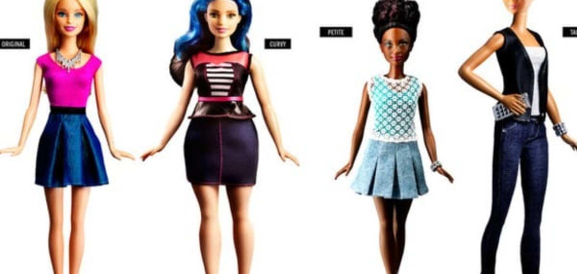Смена стандартов: американцы выпустили куклу Барби 'размера плюс'