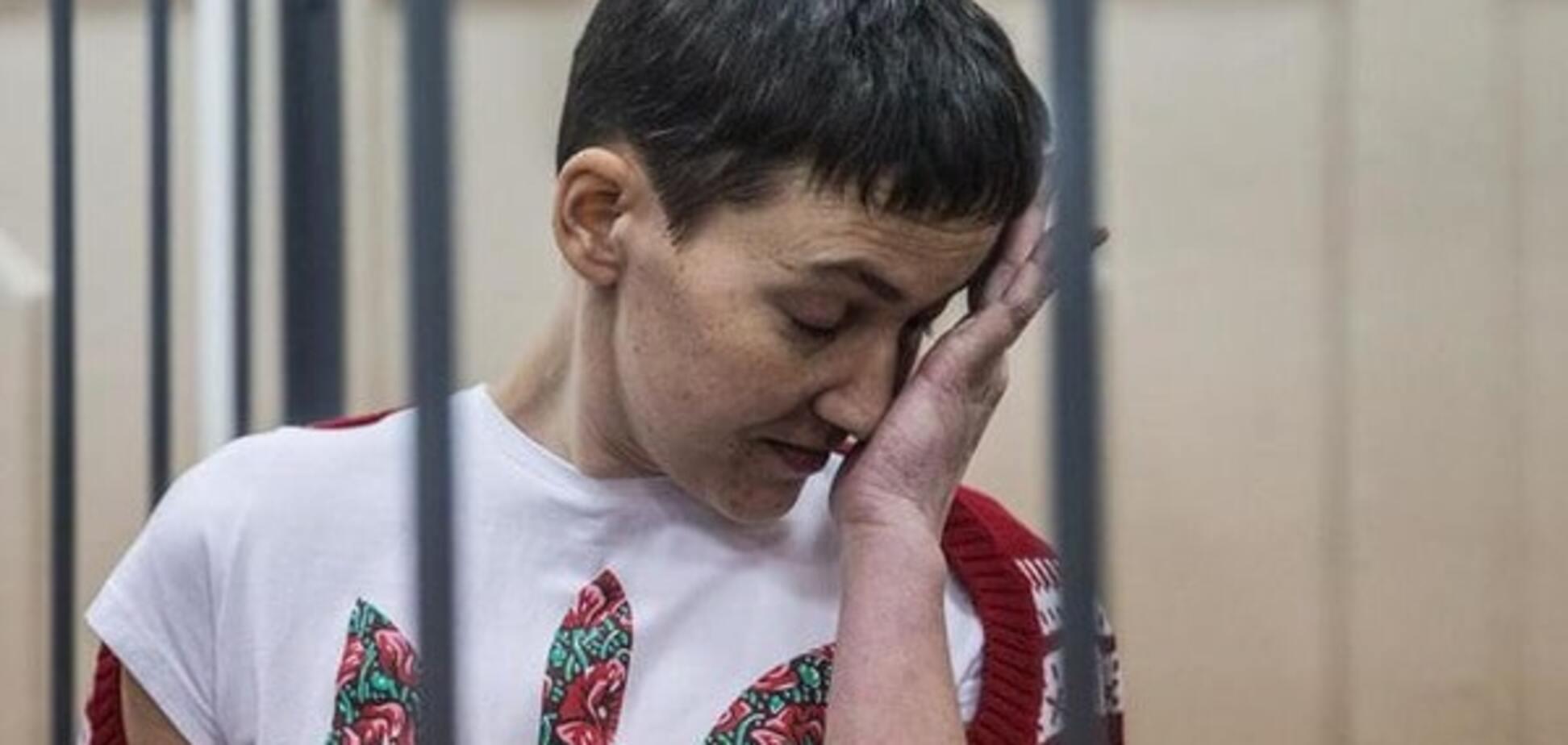 Савченко ужесточили условия содержания в тюремной камере
