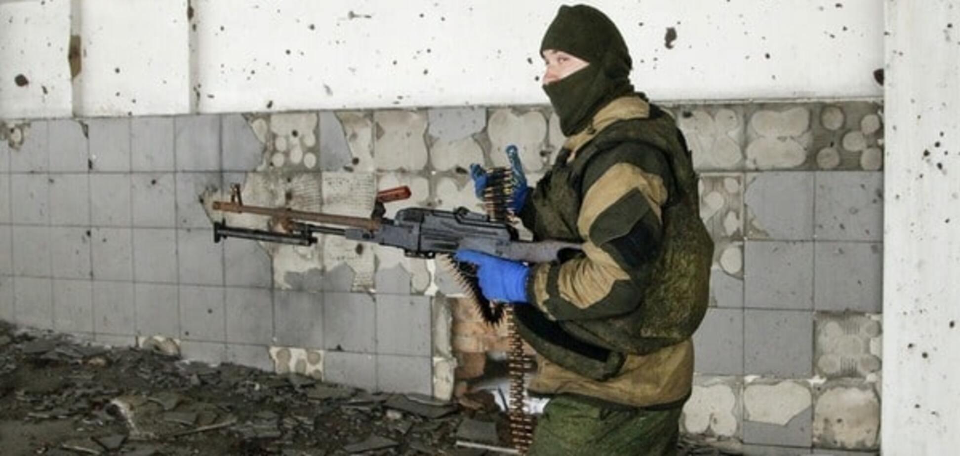 Террористы обстреляли позиции сил АТО в Марьинке из зенитной установки
