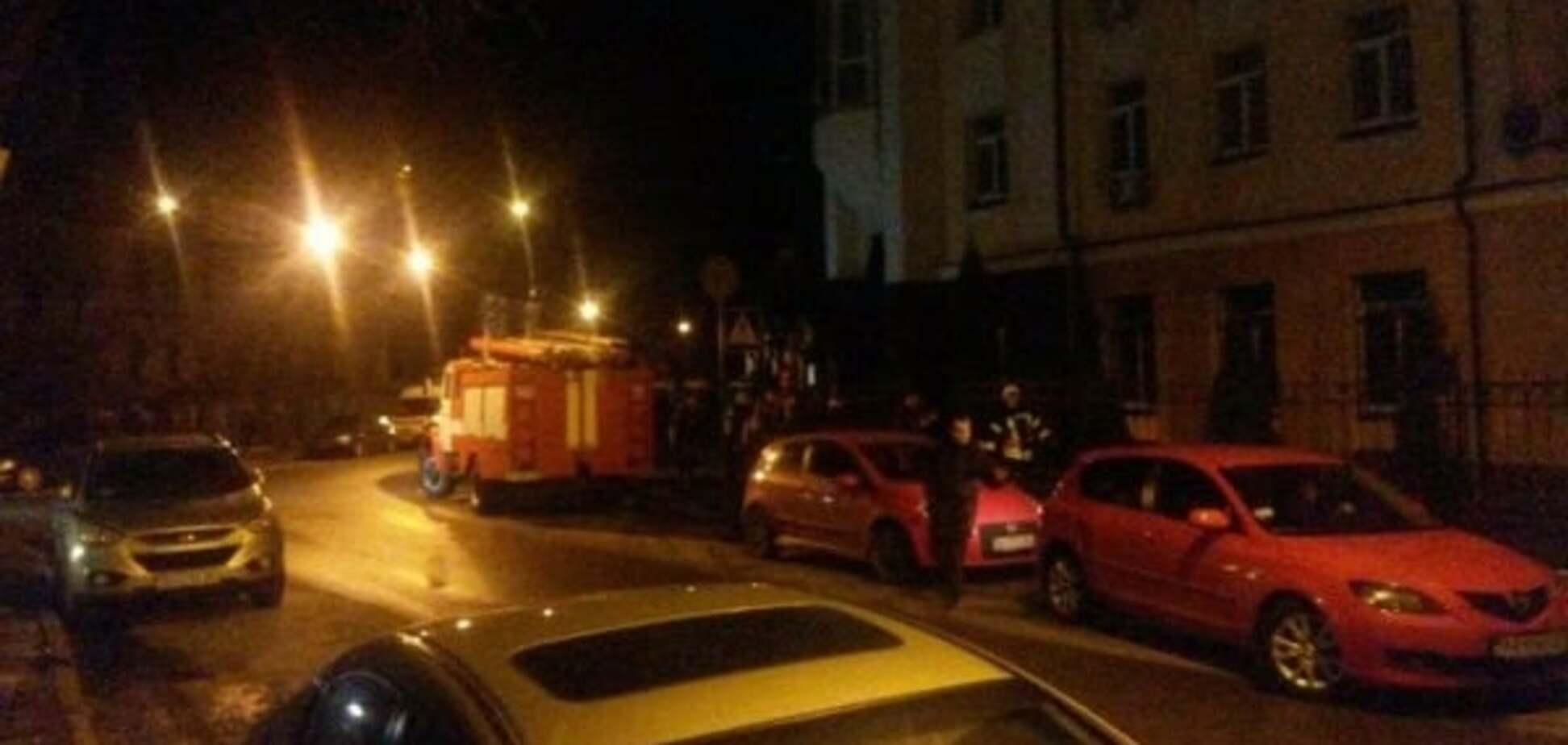 В Киеве произошел пожар в здании Главного следственного управления ГПУ