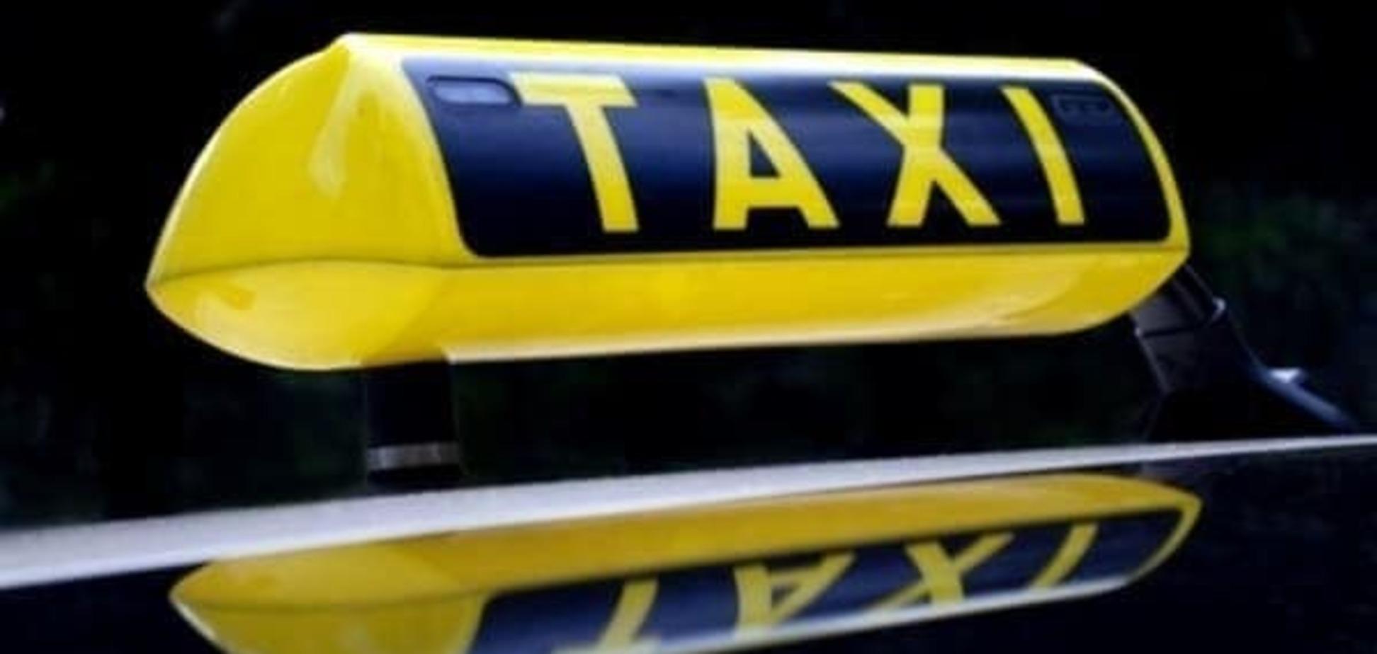 В Киеве грабители напали на таксиста