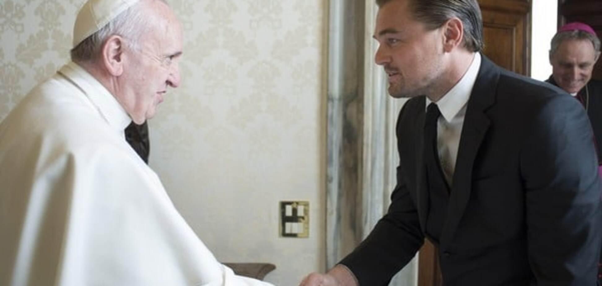 Лео у Ватикані: ДіКапріо обговорив з Папою проблеми екології