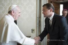 Лео в Ватикане: ДиКаприо обсудил с Папой проблемы экологии