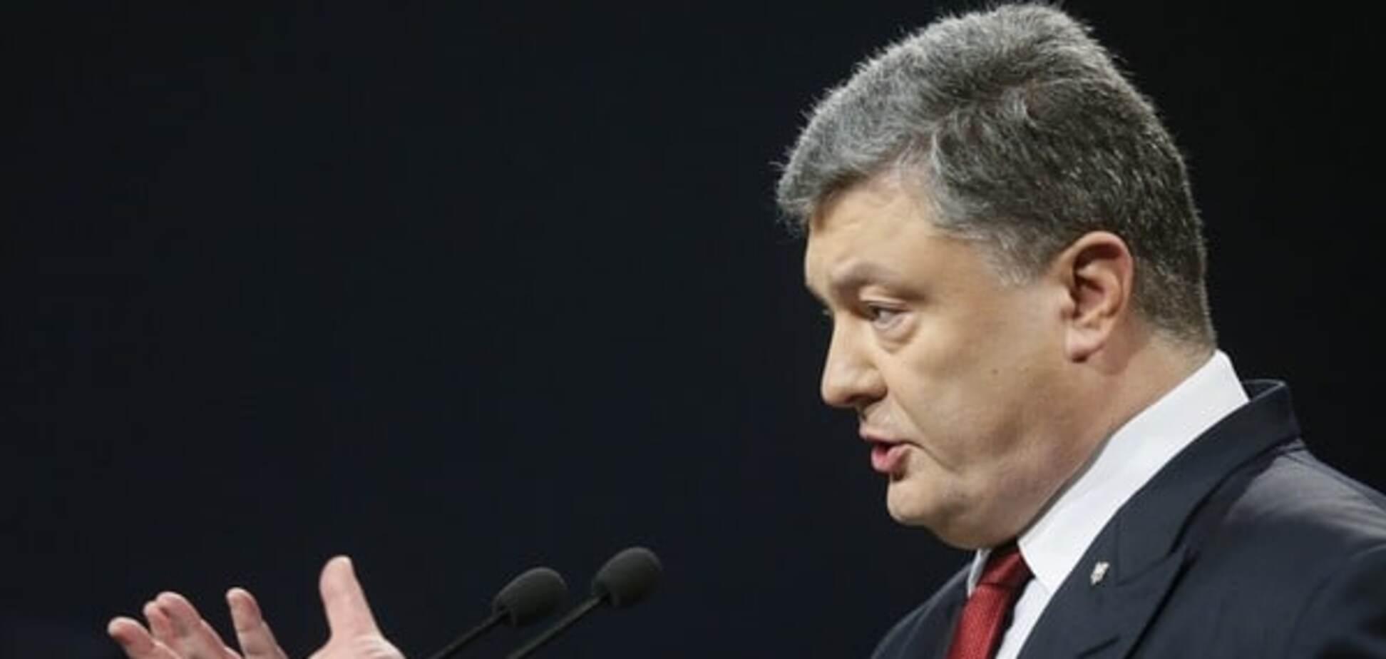 Больше никаких пацифистских иллюзий: Порошенко озвучил число погибших военных на Донбассе