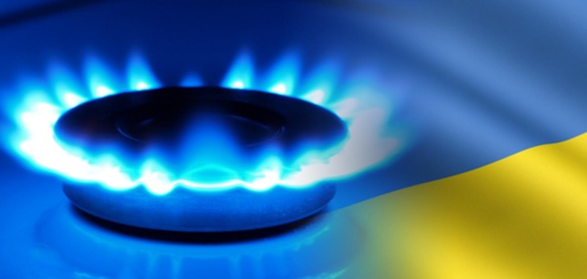 Україна за рік скоротила споживання газу на 21% - інфографіка