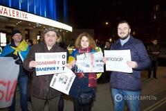 Сидіть у Росії: у Лондоні влаштували протест проти приїзду Валерії
