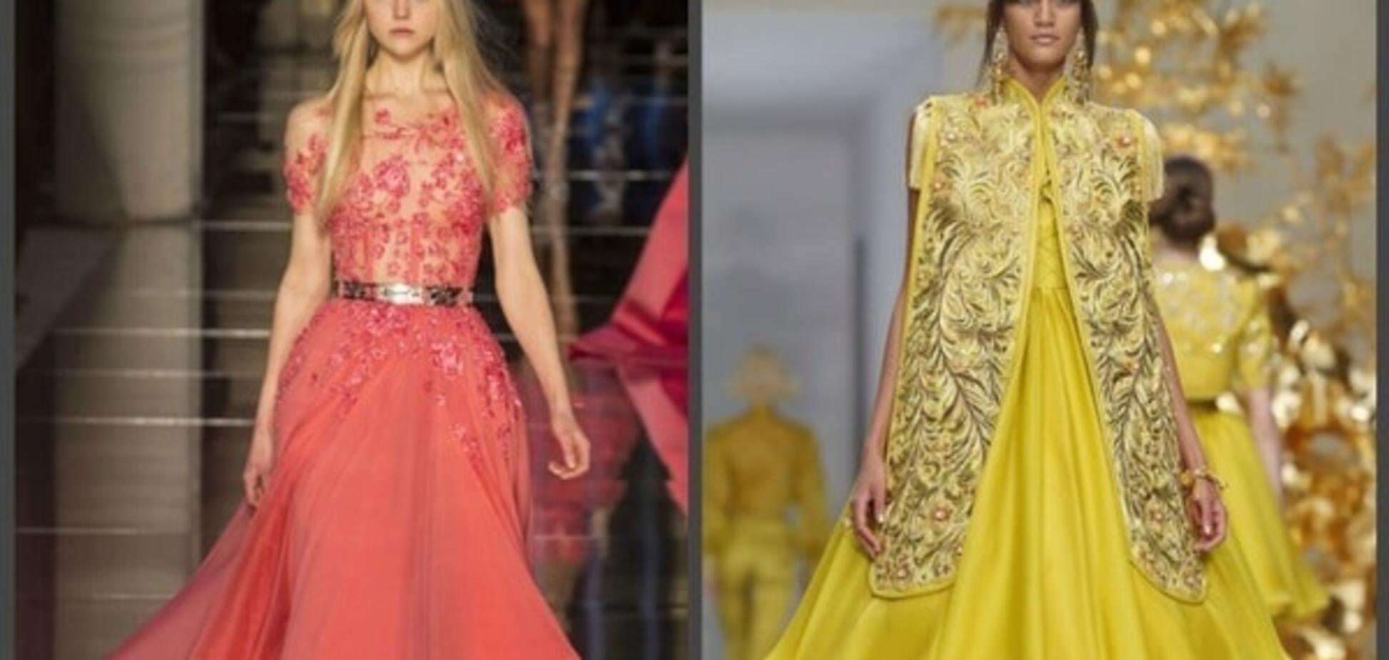 Тиждень високої моди в Парижі: найяскравіші і вражаючі вбрання