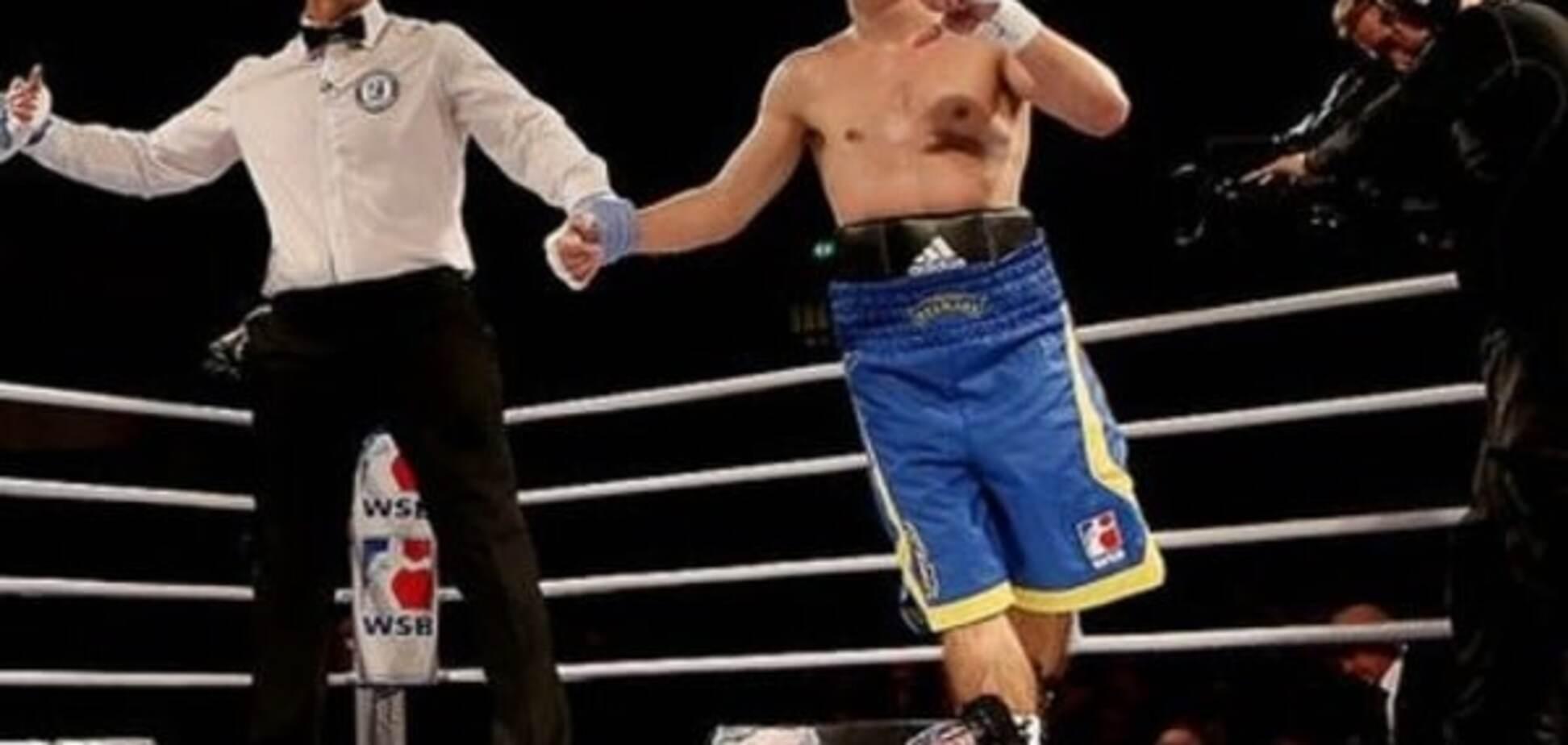 'Українські отамани' розгромили 'Китайських драконів' у Всесвітній серії боксу