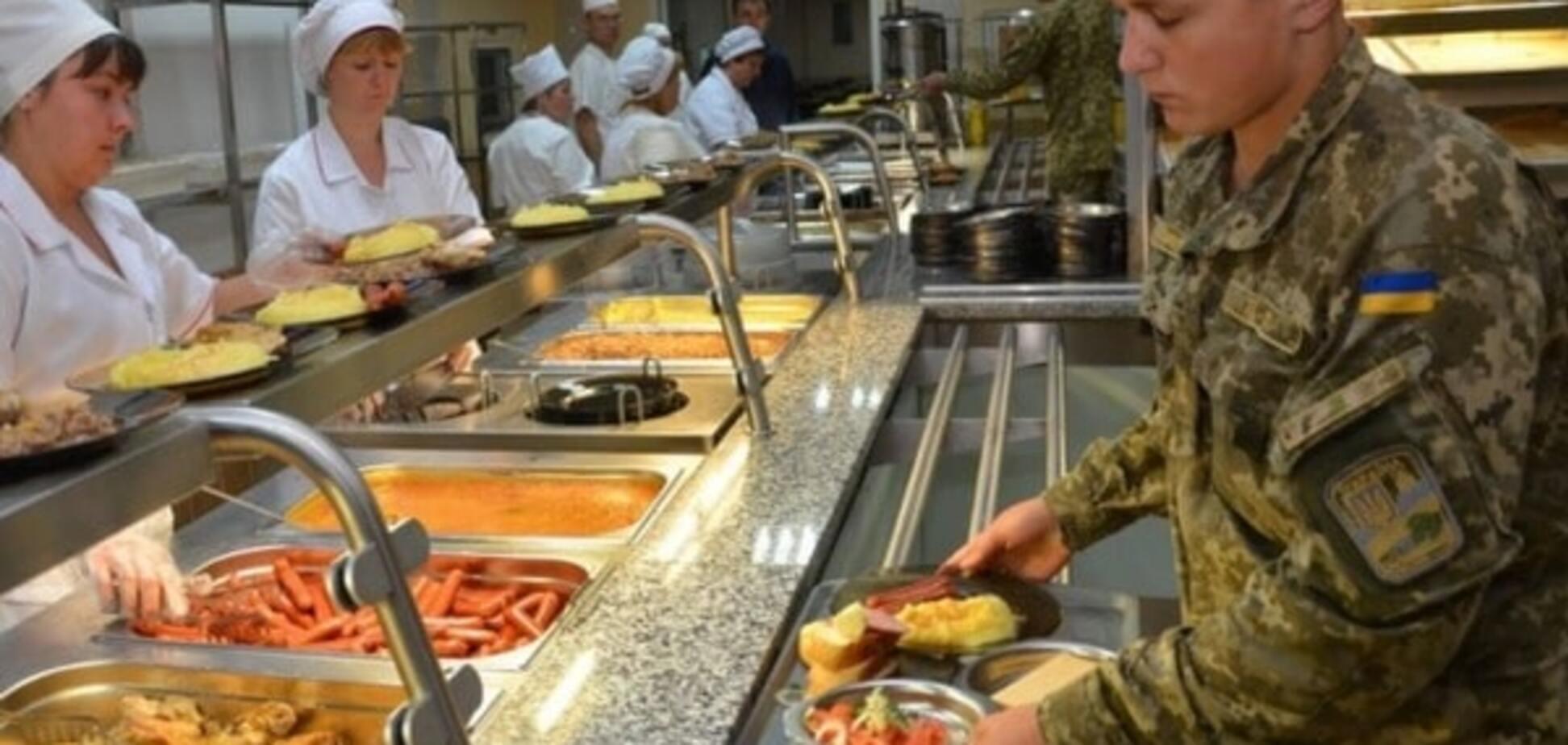 Полторак рассказал, как будут кормить украинских бойцов