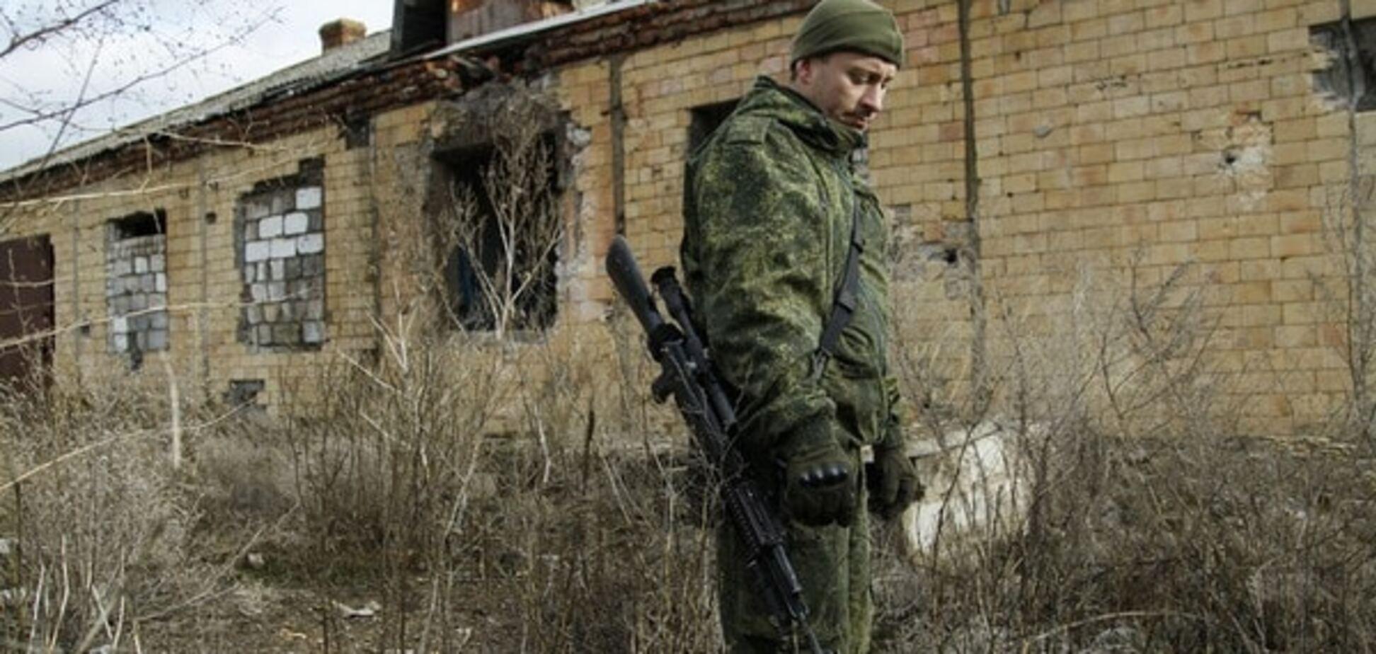 Террористы снова атаковали украинцев под Донецком