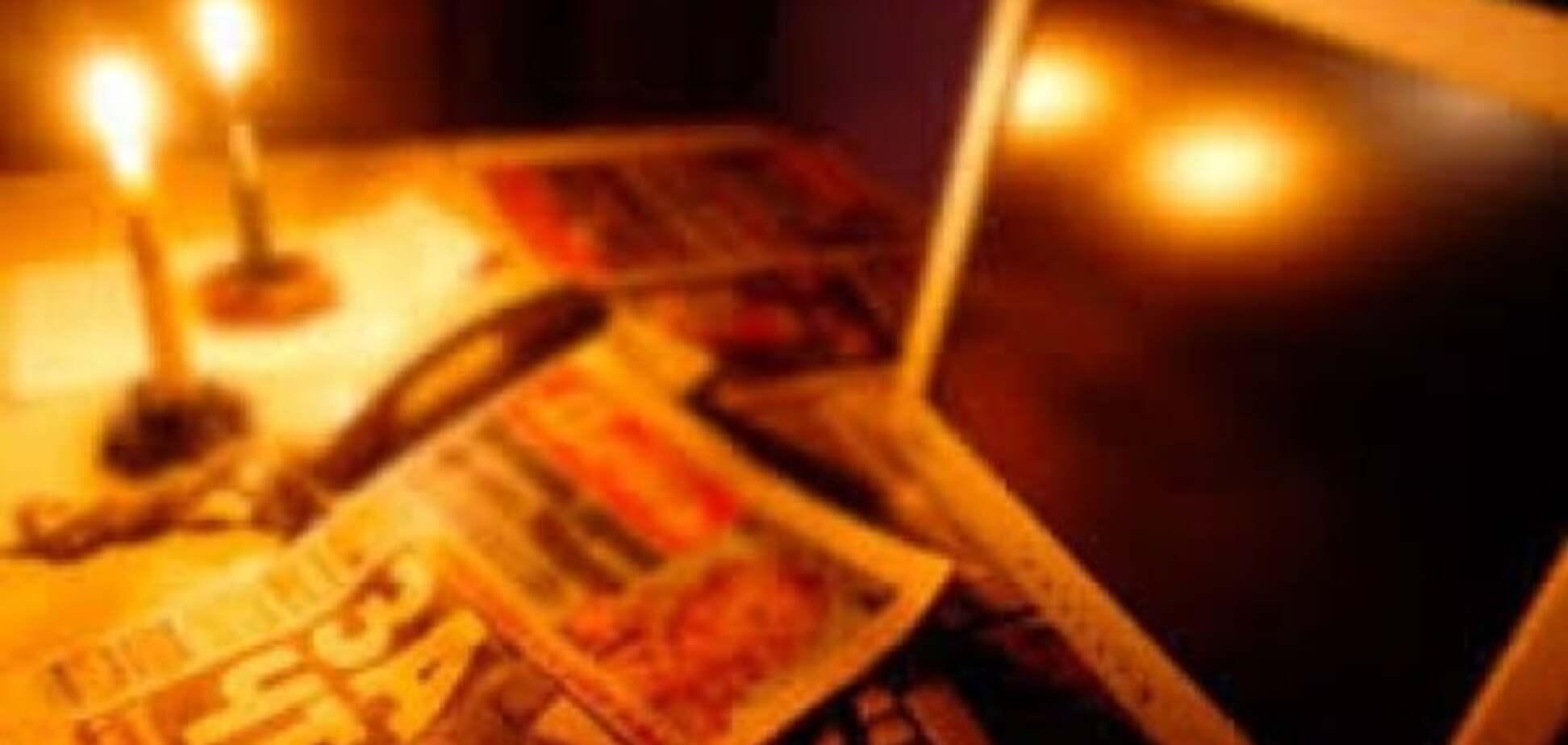 В оккупированном Крыму снова 'потушили' свет