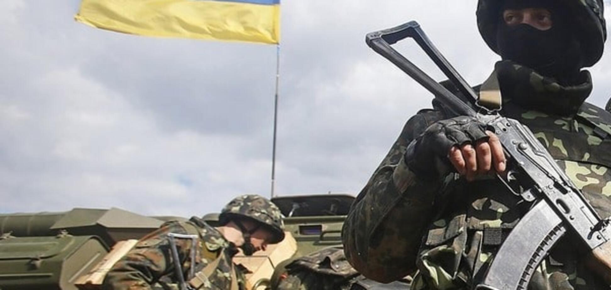 Террористы провели мощную огневую атаку укреплений сил АТО в Красногоровке