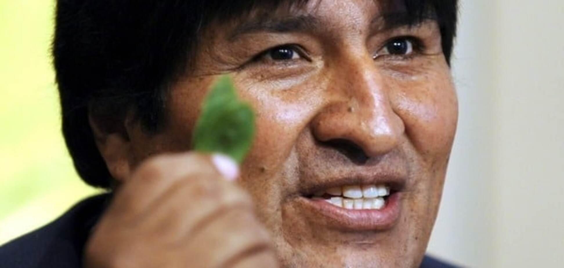 Лідер Болівії назвав коку своїм помічником у боротьбі з імперіалізмом