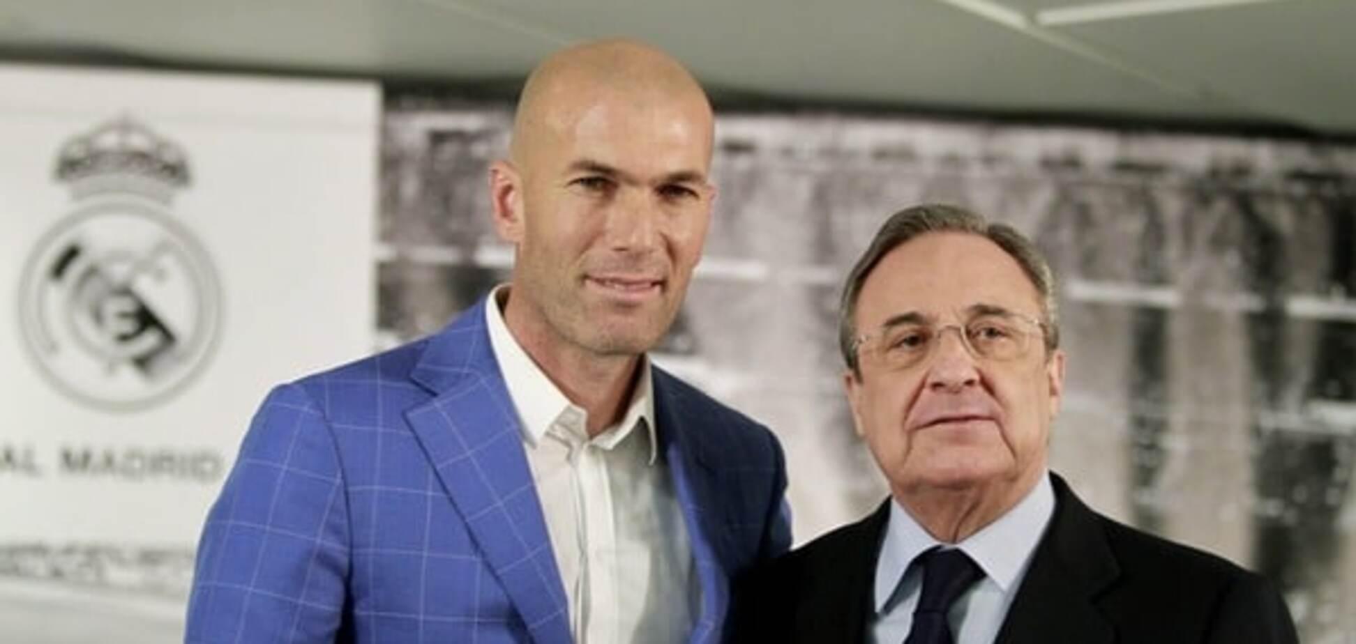 Официально: Зидан возглавил 'Реал'