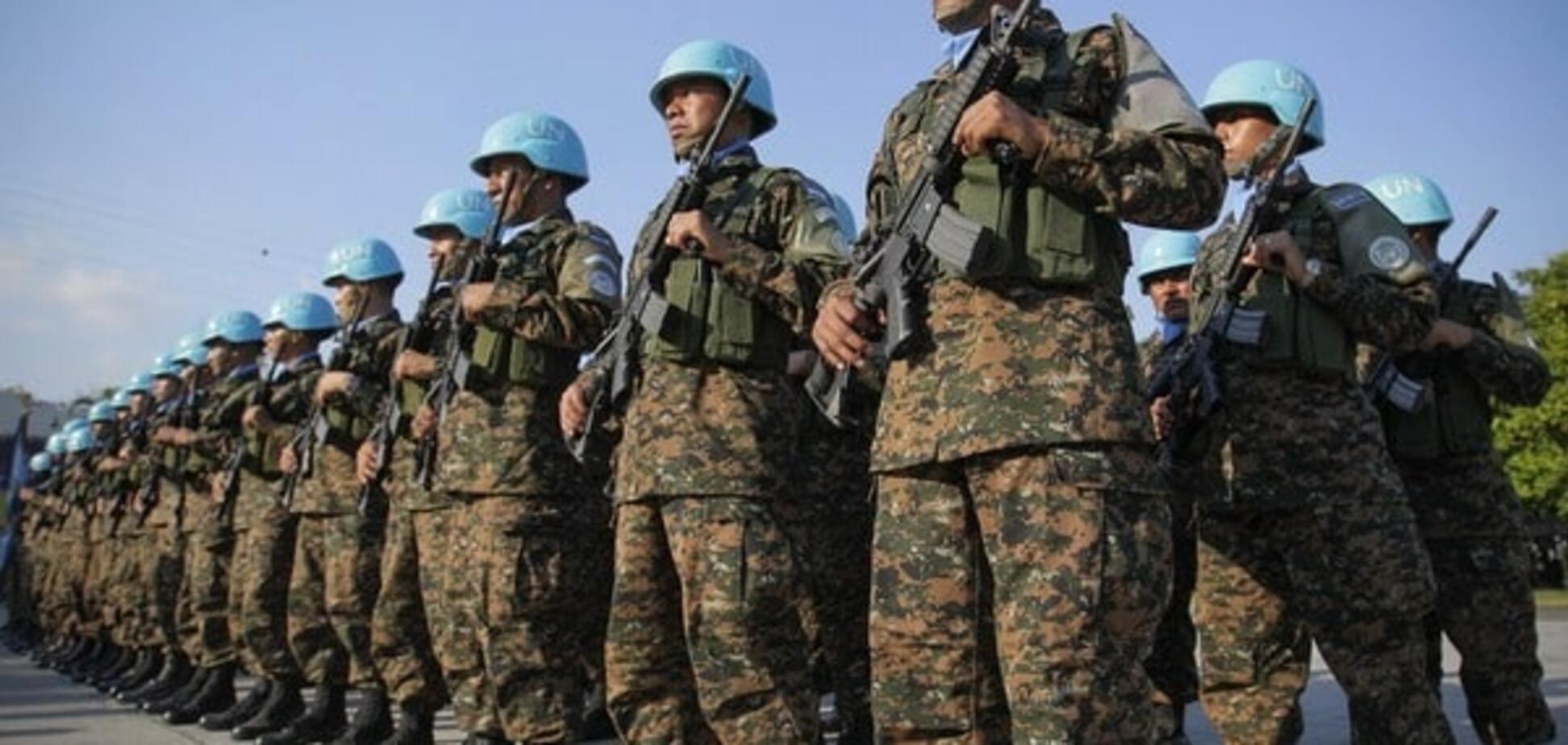 Полковник Савченко: сейчас лучшее время для введения на Донбасс миротворцев ООН