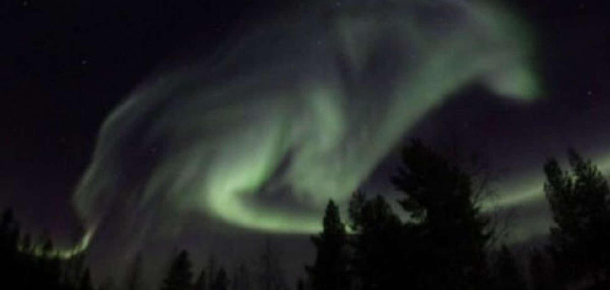Небо над Швецией 'атаковал' гигантский волк: фотофакт