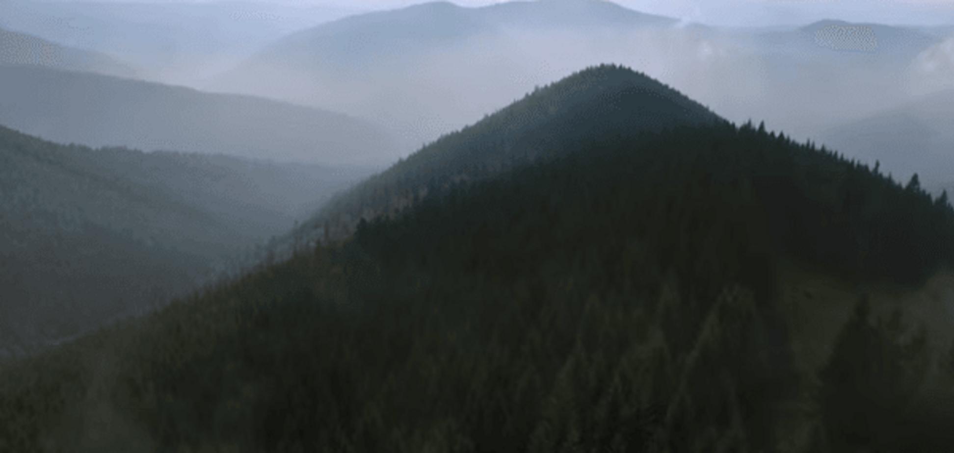 Дух захватывает! Красоту Украины показали на видео, снятом дронами