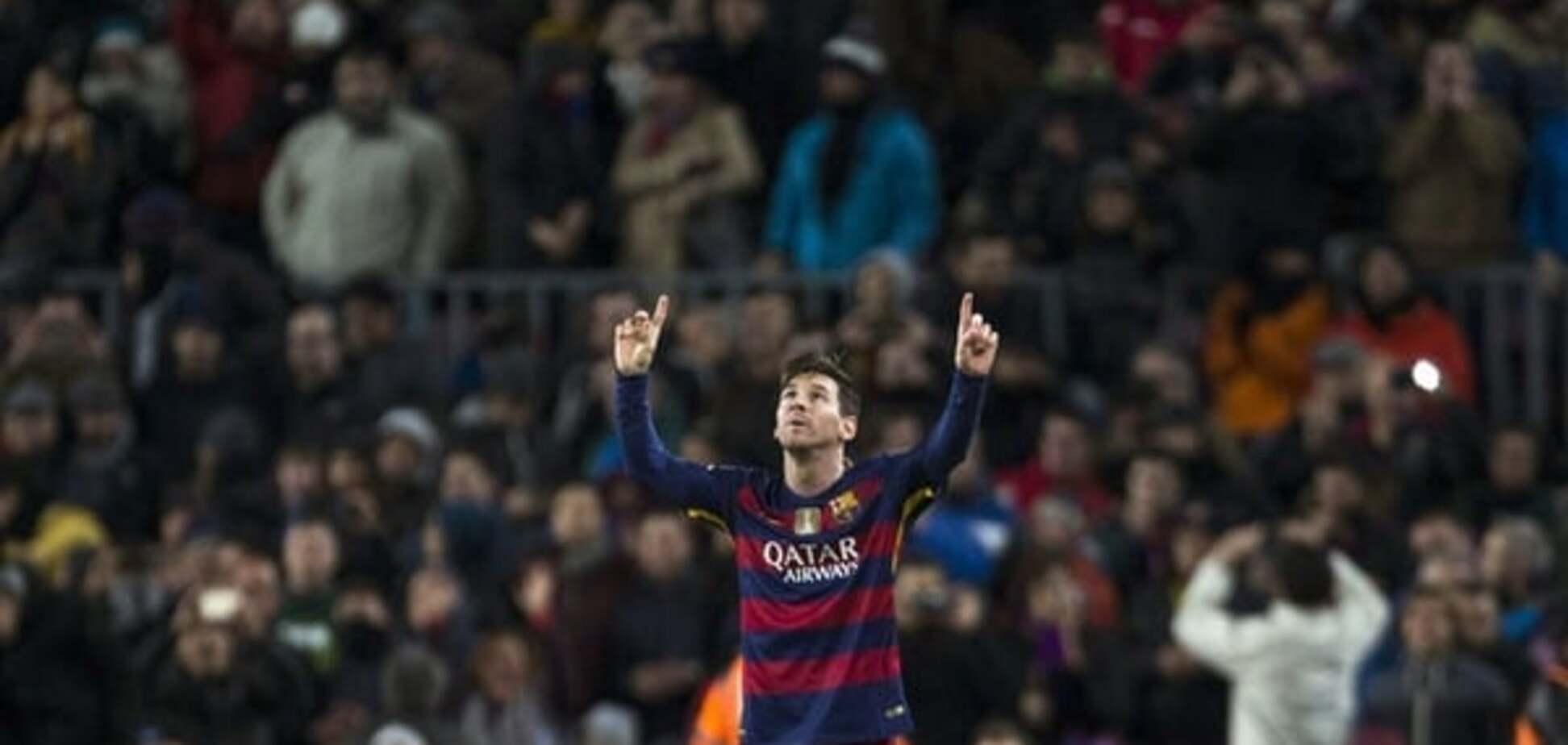 Бильярдный удар. Месси забил роскошный гол в Кубке Испании: видео шедевра
