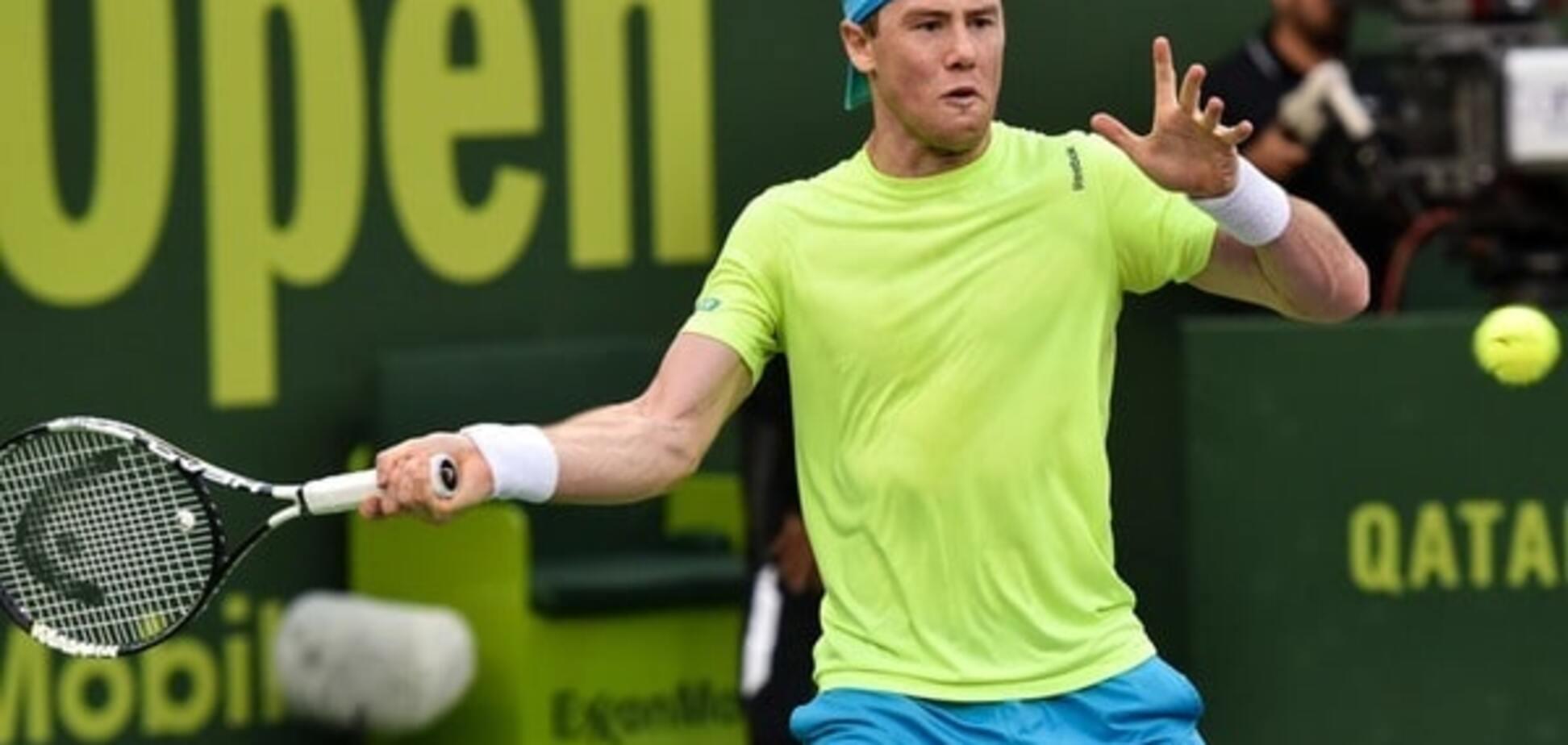 Український тенісист продовжує творити сенсації на турнірі в Досі