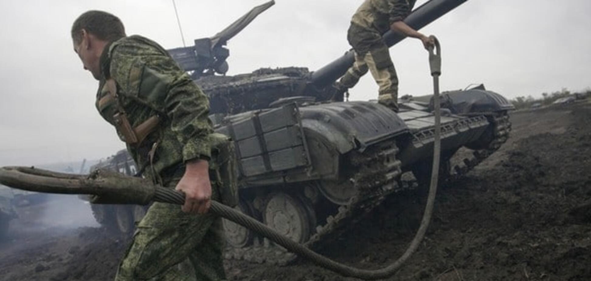 Терористи з кулеметів атакували бійців АТО поблизу Луганського