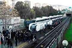 ЧП в Турции: в Измирском метро перевернулся поезд