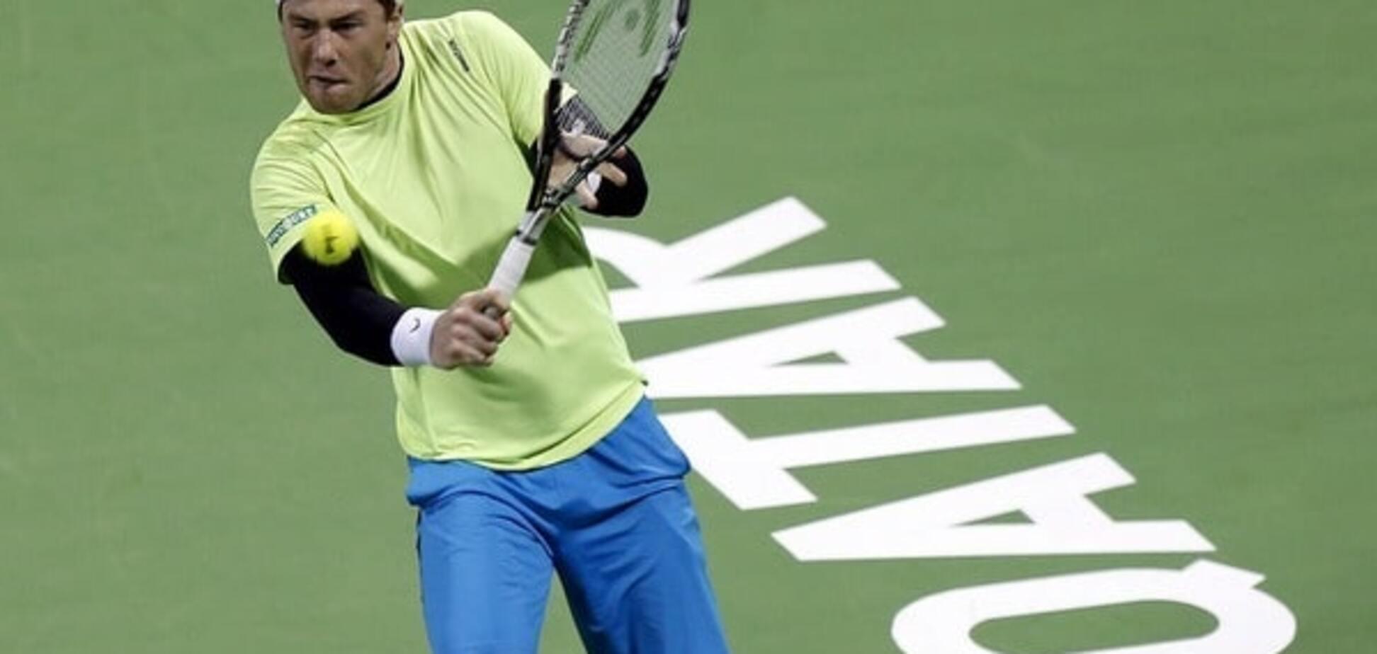 Сенсационный украинец дал бой легенде тенниса на турнире в Дохе