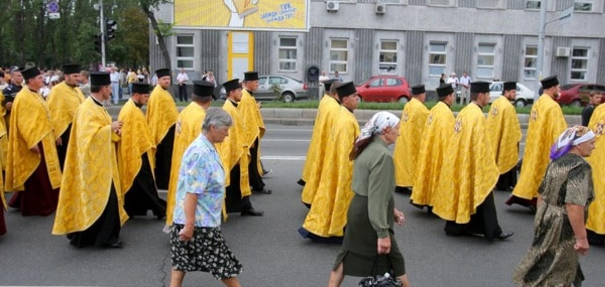 В Украине зафиксировали массовый переход церквей из московского патриархата в киевский