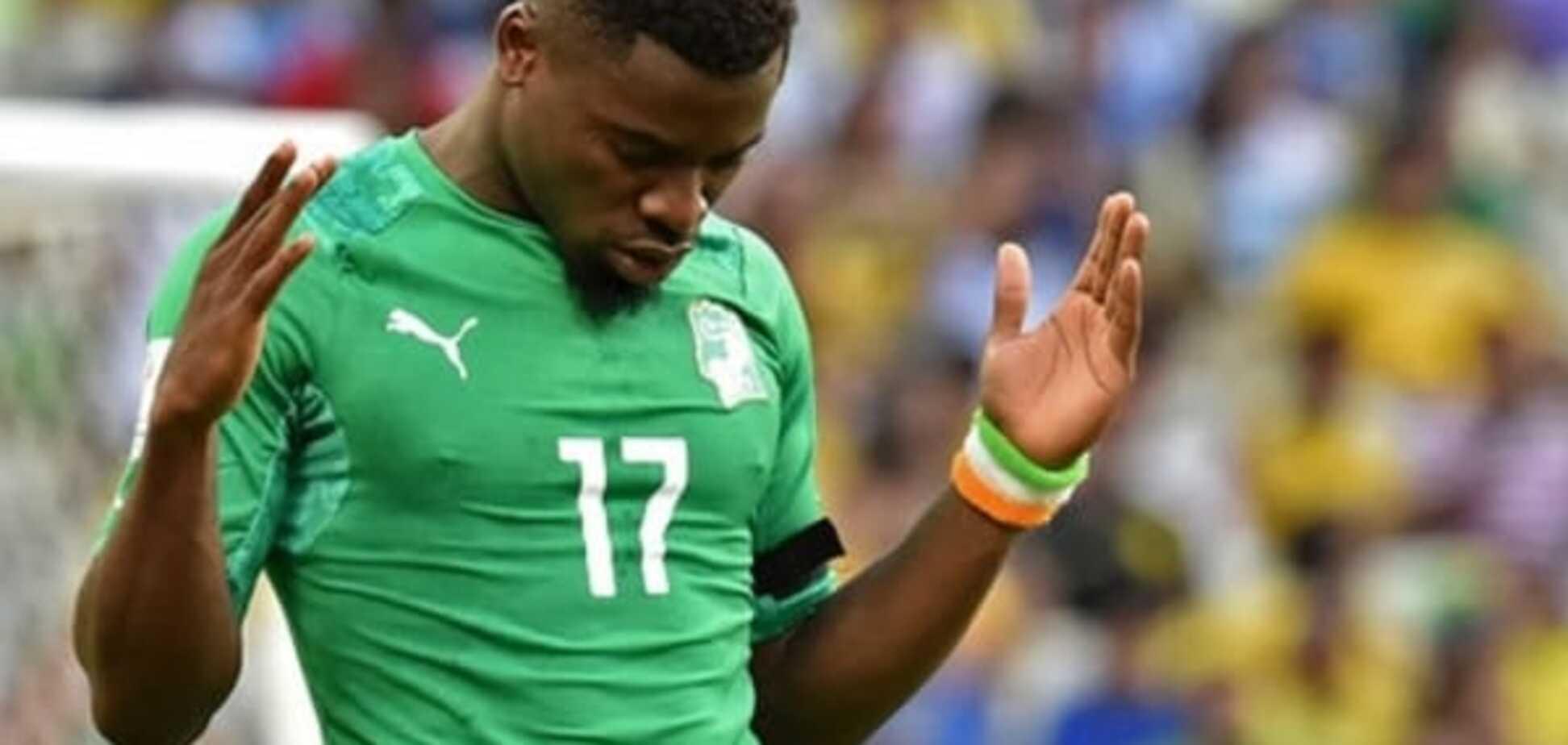 Африканский футболист спас своего противника от смерти на поле: видео момента