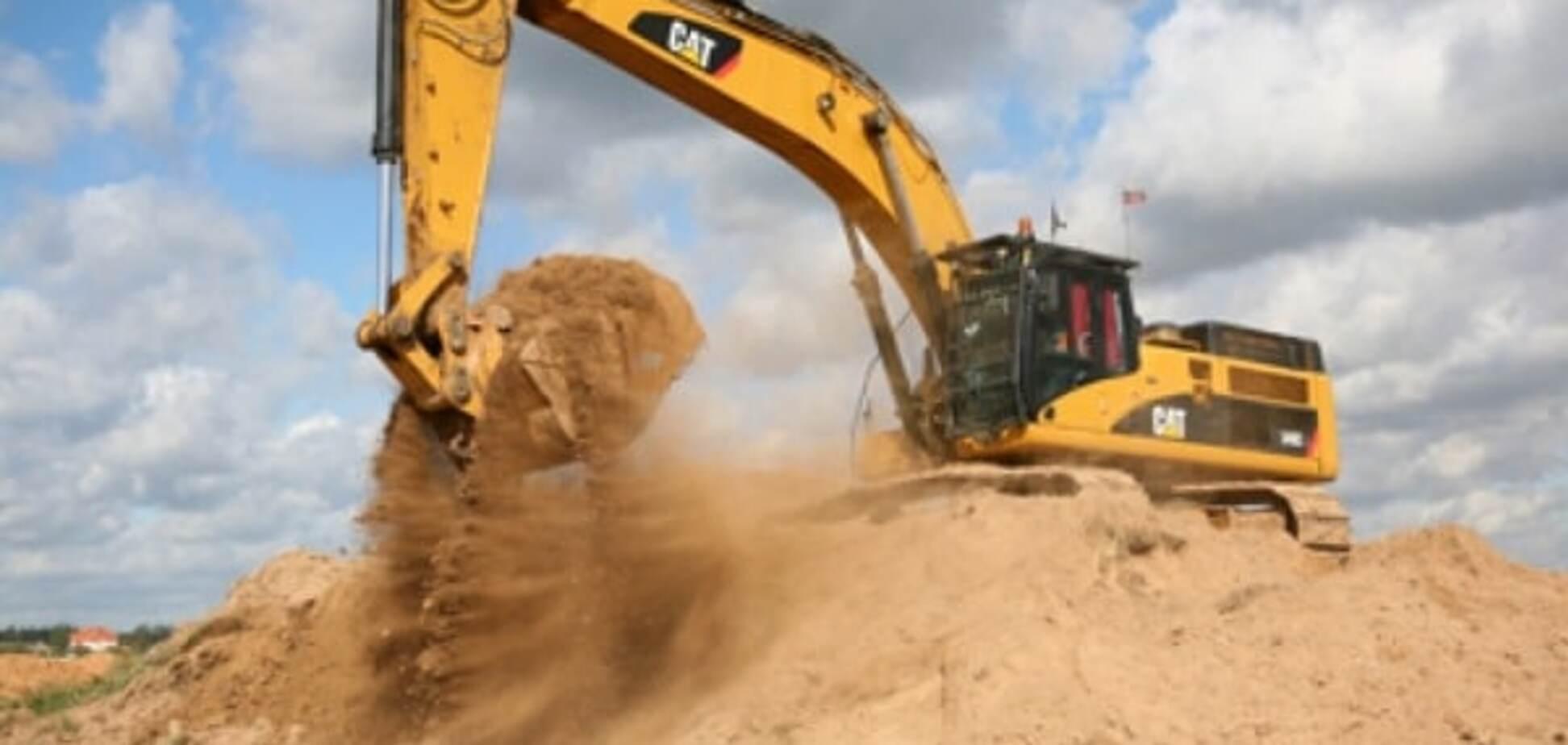 Незаконная добыча песка