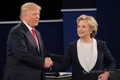 Трамп и Клинтон