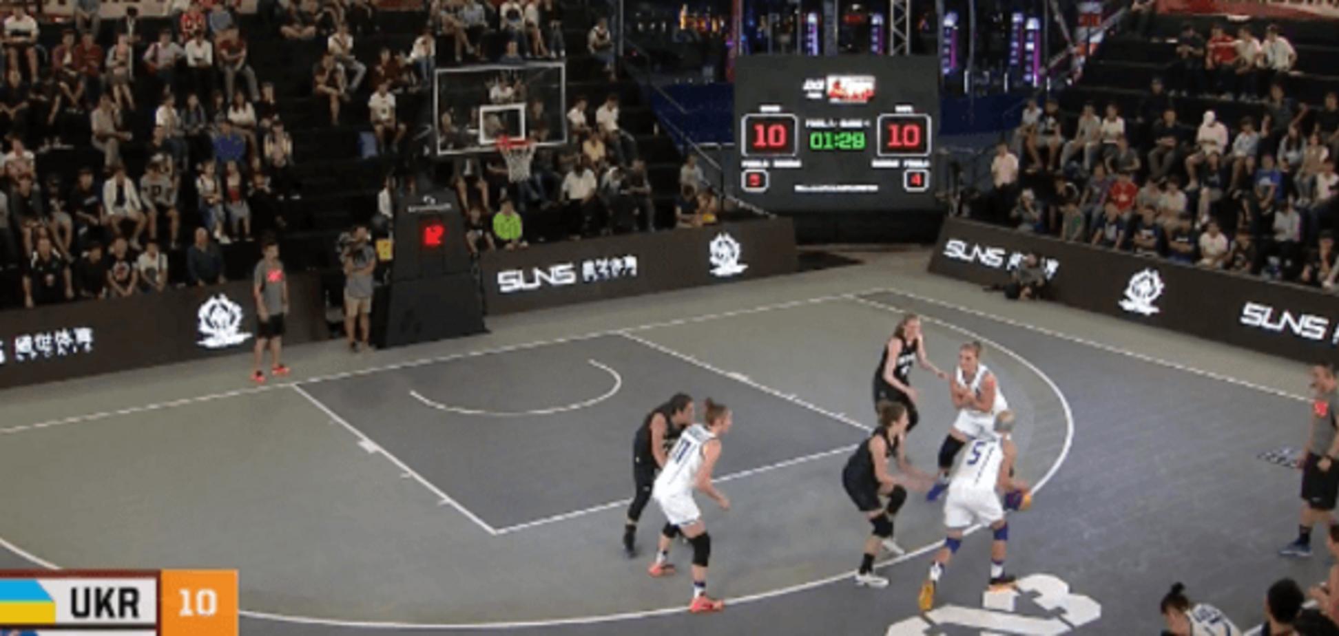 Сборная Украины драматично стартовала на чемпионате мира по баскетболу