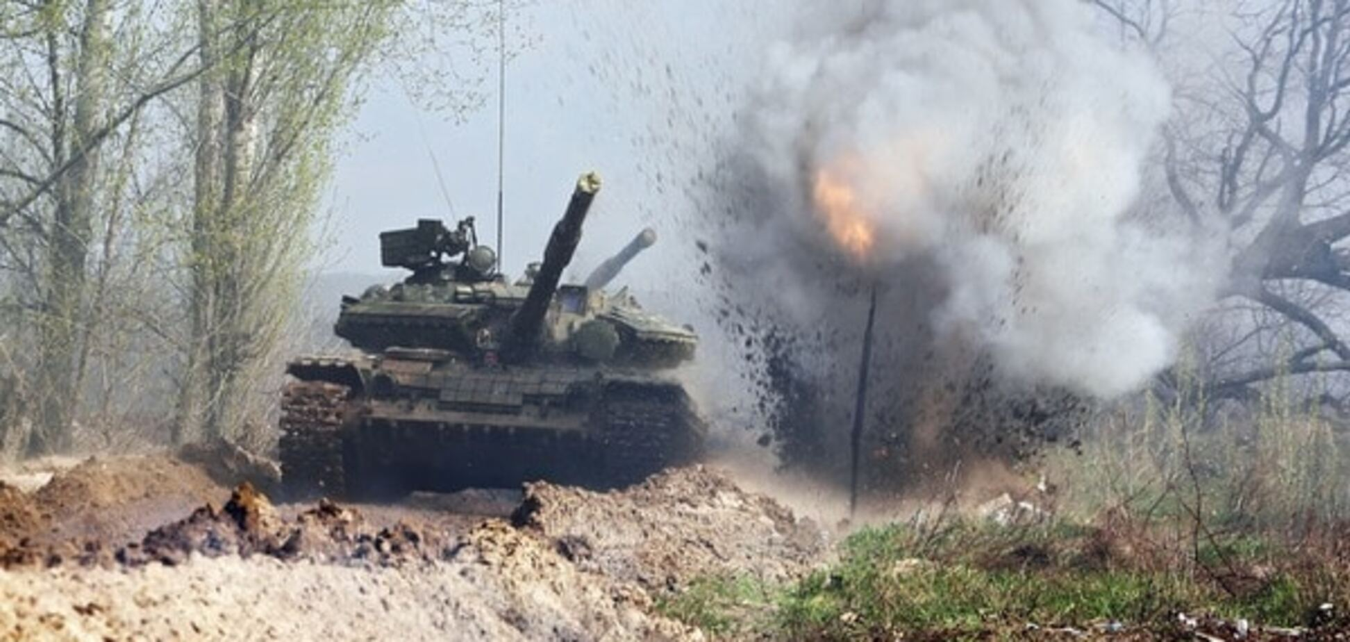 танк донбасс война