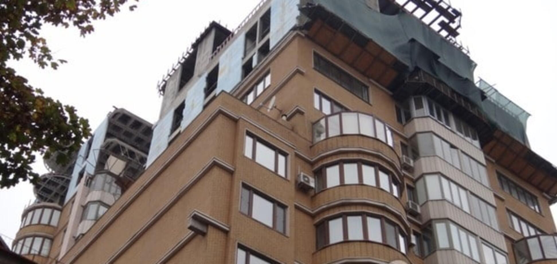 Надстройка в доме Януковича-младшего