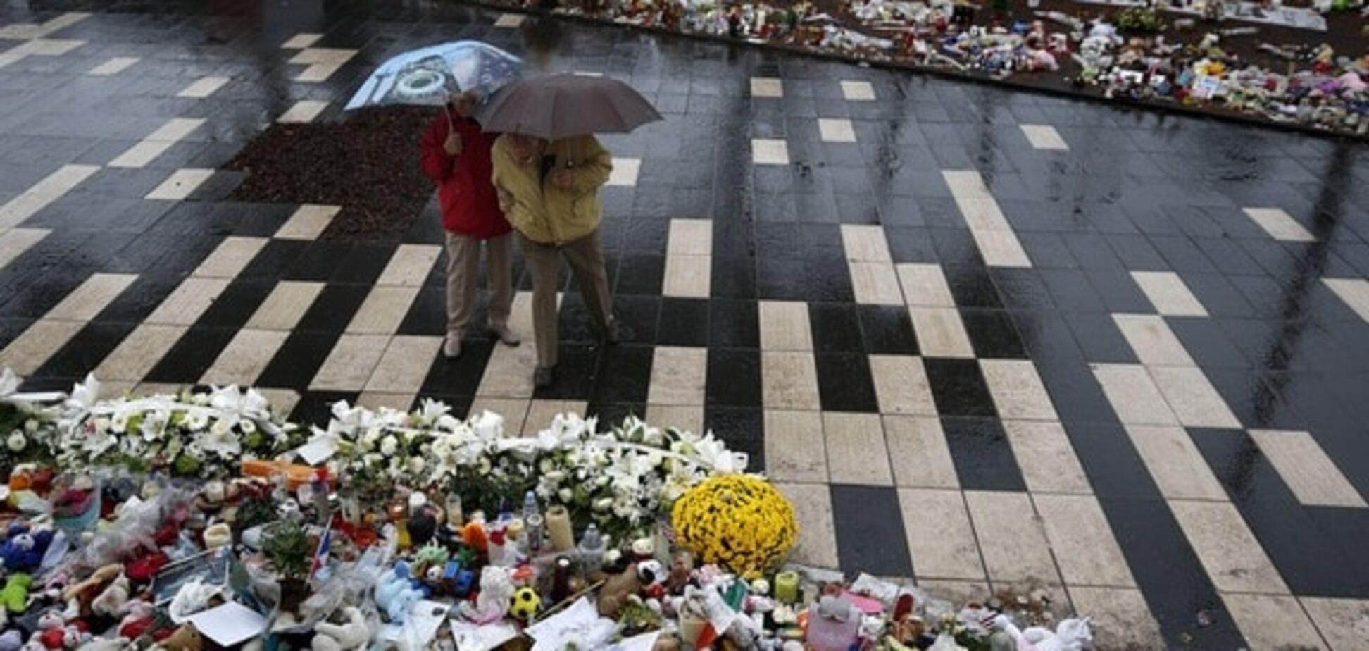 У Ніцці вшанували жертв теракту