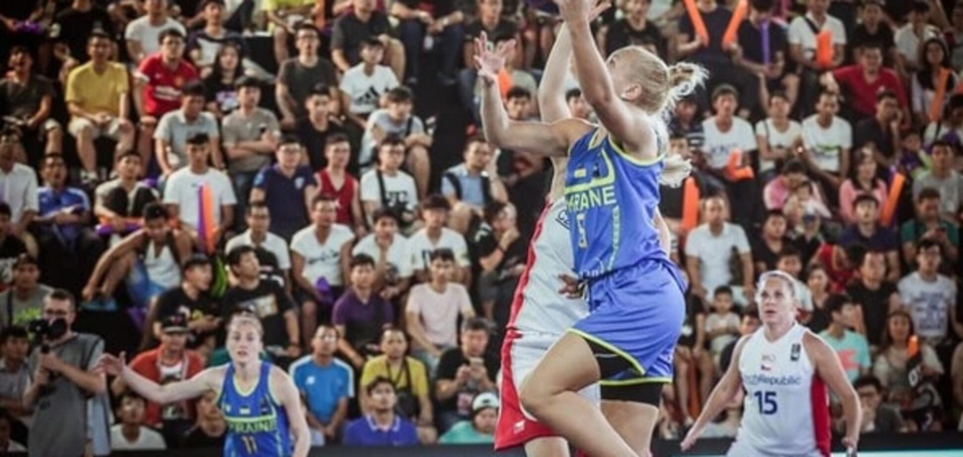 Жіноча збірна України з баскетболу 3х3