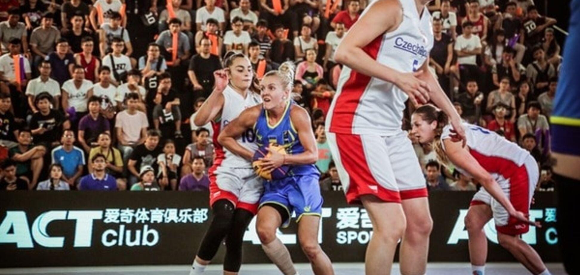 Жіноча юніорська збірна України з баскетболу 3х3