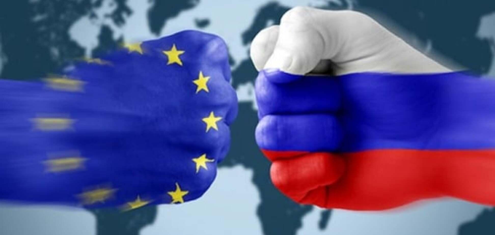 Противостояние ЕС и России