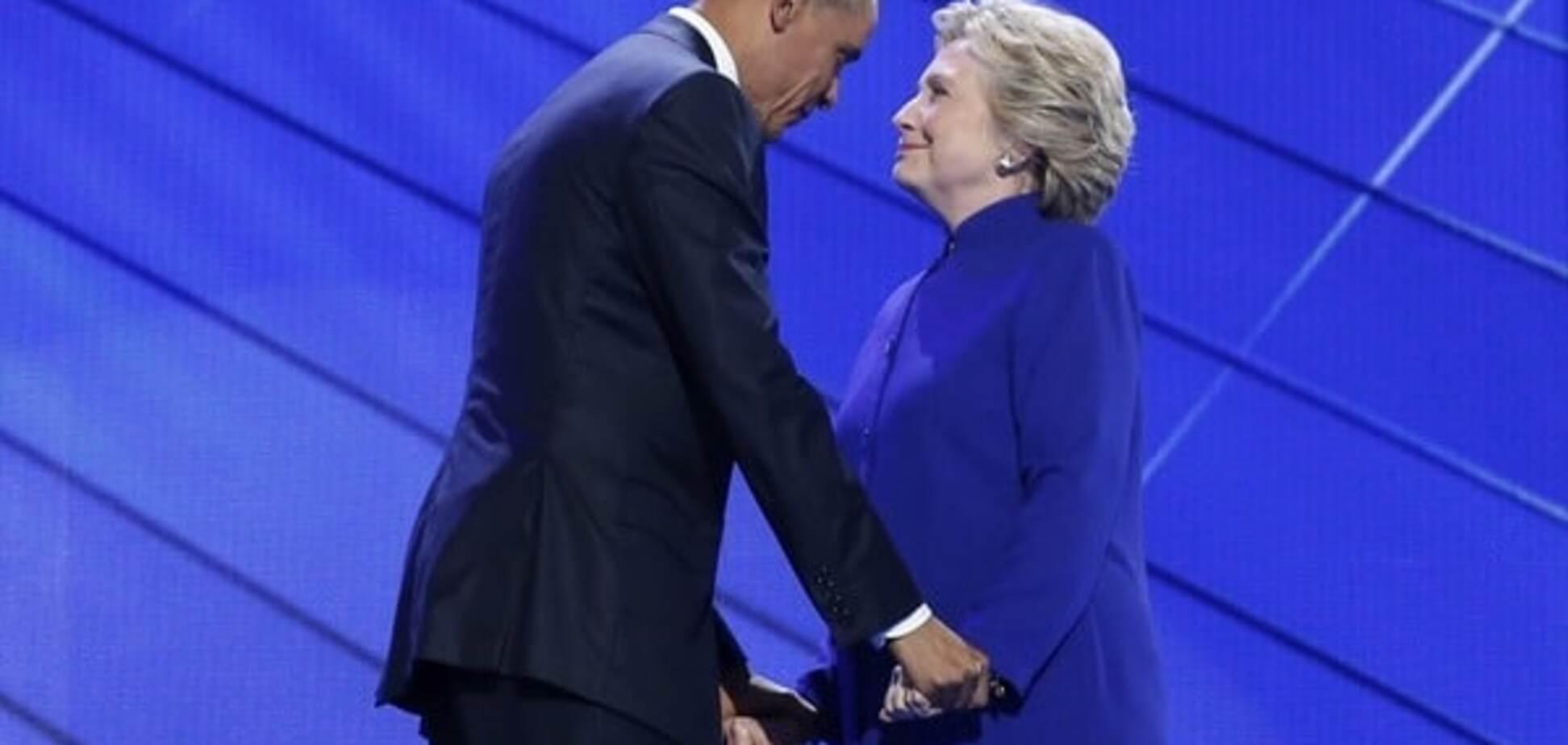 Барак Обама і Хілларі Клінтон